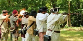 Guilford-Militia-firing