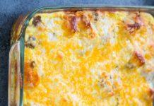 breakfast-casserole-biscuit-egg-sausage-gravy