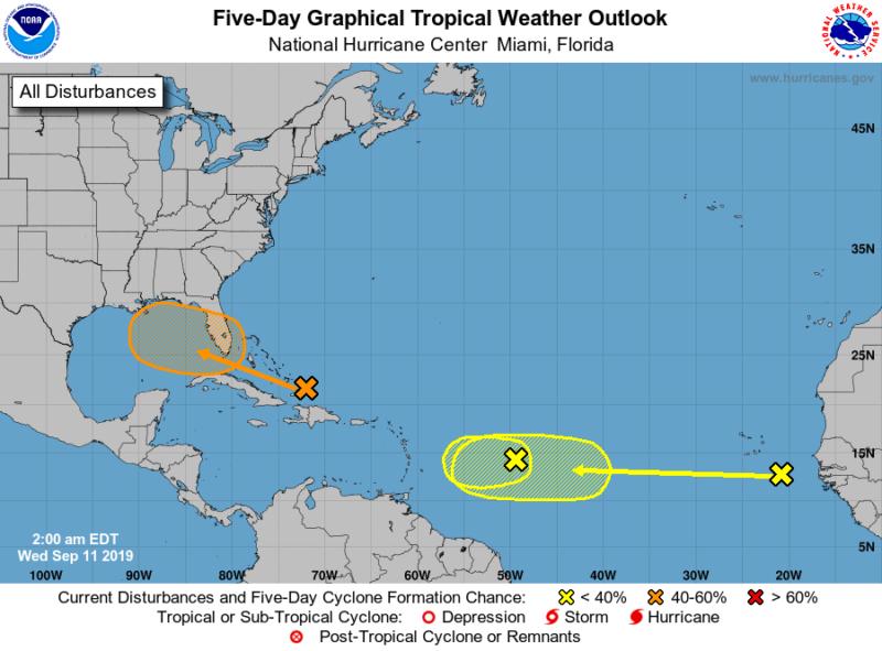 Florida- Gulf Coast Watch Tropical System For Development ...