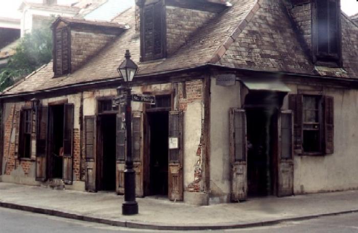 afitte's blacksmith shop and bar