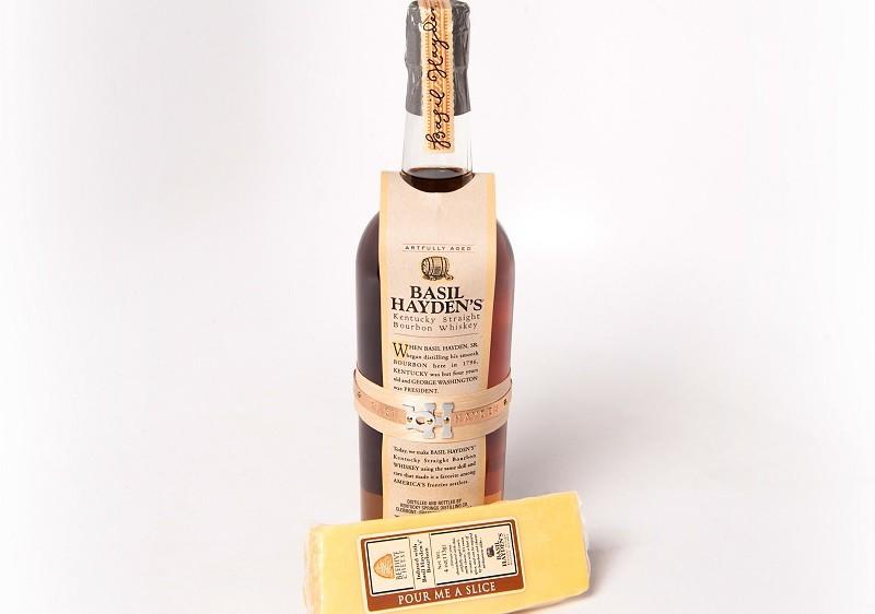 basil hayden cheese