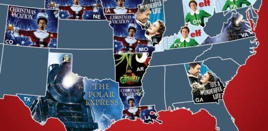 Holiday Favorites Map