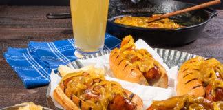 mustard-beer-basted-sausage