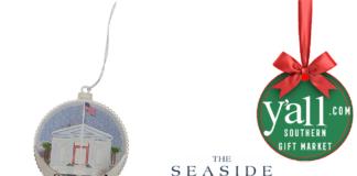 Seaside Post Office Ornament