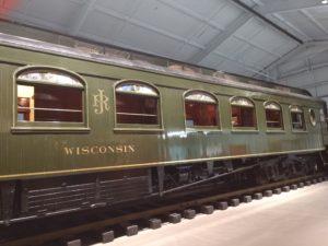 John Ringling train car