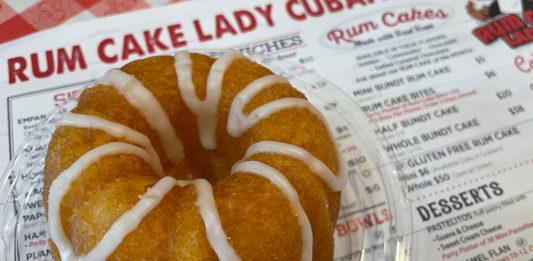 Rum Cake Lady